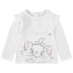 Camiseta de manga larga con estampado de María de los Aristogatos Disney