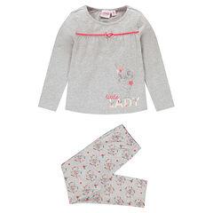 Pijama largo de punto con estampado de Bambi de Disney