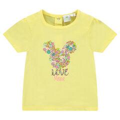 Camiseta de manga corta con estampado fantasía de Disney Minnie
