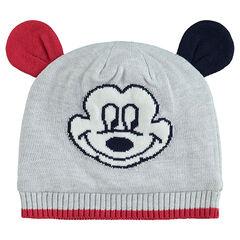 Gorro de punto Disney Mickey con orejas de relieve