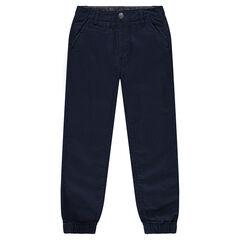 Júnior - Pantalón de algodón con los tobillos ajustados