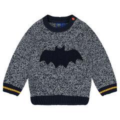 Jersey de punto con estampado de fantasía Batman