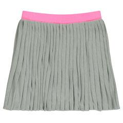 Falda plisadas