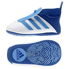 Zapatillas de deporte flexible con sujeción mediante elástico Addidas bandas azul