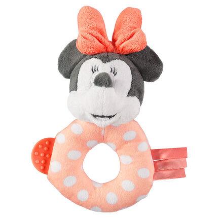 Sonajero de peluche Disney Minnie