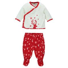 Pijama de terciopelo