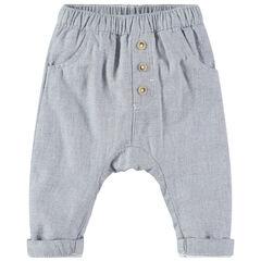 Pantalón de algodón de fantasía, estilo sarouel