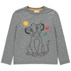 Camiseta de manga larga con estampado de Simba Disney