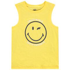 camiseta lisa estampado smiley