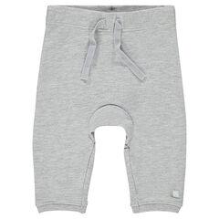Pantalón de muletón liso