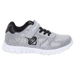 Zapatillas deportivas bajas con cordones elásticos y velcro FREEGUN