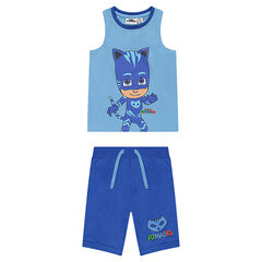 Pijama corto de punto con estampado PJ Masks ©2018 FrogBox/Ent. One UK Ltd