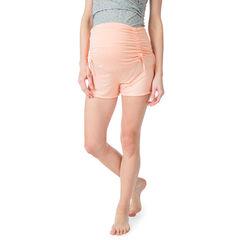 Pantalón corto homewear de premamá con banda alta