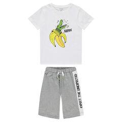 Júnior -Pijama de punto con estampado de fantasía