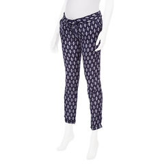 Pantalon de embarazada estampado all-over tipo pitillo