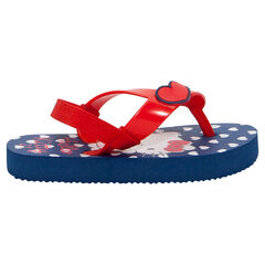 Chanclas rojas y azules Hello Kitty