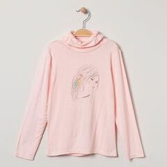 Suéter de cuello alto fantasía y estampada unicornio