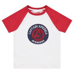 Camiseta de manga corta de punto con dibujo de lentejuelas mágicas Los Vengadores ©Marvel