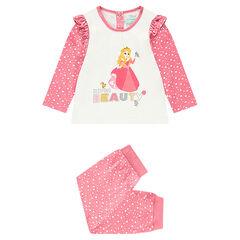 Pijama de punto con parte superior de princesa Aurora ©Disney