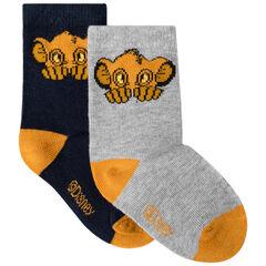 Pack de 2 pares de calcetines a juego motivo  Simba Disney
