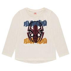 Camiseta de manga larga ©Marvel con estampado de Spiderman