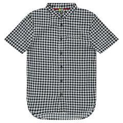 Júnior - Camisa de manga corta de vichy