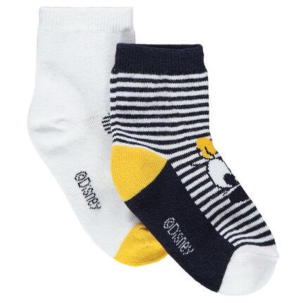 Juego de 2 pares de calcetines variados ©Disney Minnie