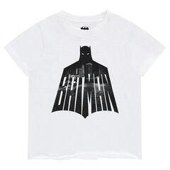 Júnior - Camiseta de manga corta de punto con estampado de ©Warner Batman