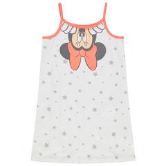 Camisón de algodón ecológico con estampado de Minnie Disney y estrellas