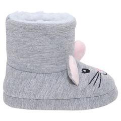 Zapatillas en forma de botines con forma de ratón