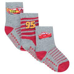 Juego de 3 pares de calcetines de Disney/Pixar® con dibujo de Cars