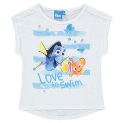 Camiseta de manga corta de Disney Dory
