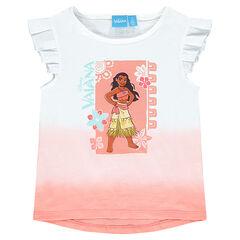 Camiseta de manga corta estampada Disney Vaiana