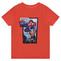 Camiseta de manga corta de punto de ©Marvel con estampado Spiderman