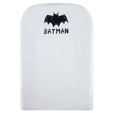 Funda para cambiador de algodón de rizo de BATMAN