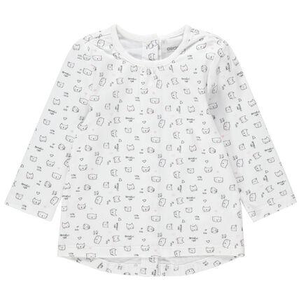 Camiseta de manga larga con dibujos de fantasía