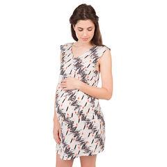 Vestido de embarazada con estampado all-over