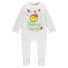 Pijama de punto con estampado ©Smiley