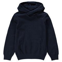 Jersey con capucha liso