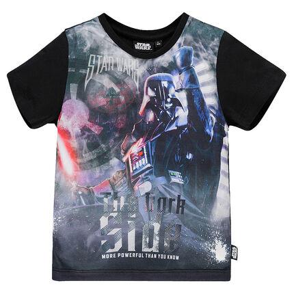 Camiseta manga corta con estampado Star Wars