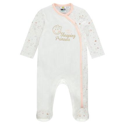 Pijama de punto interlock con estampado ©Smiley Baby