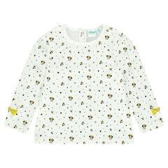 Camiseta de manga larga estampada Disney Minnie