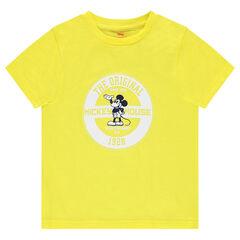 Camiseta de punto ©Disney con estampado de Mickey
