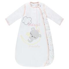 Saco de dormir de popelina de algodón con mangas desmontables y koalas estampados