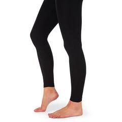 Leggings de algodón corte slim con banda alta
