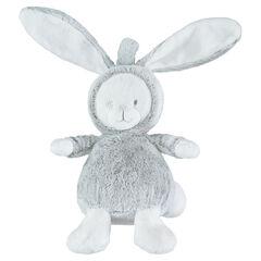 Peluche de terciopelo y borreguillo en forma de conejo , Prémaman