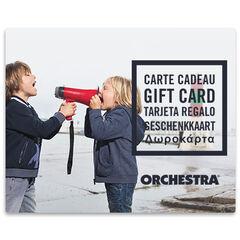 La tarjeta de regalo electrónica Orchestra duoGarcons