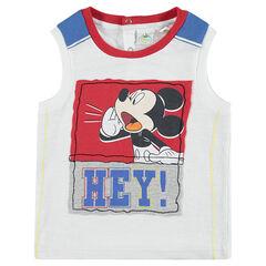 Camiseta sin mangas de punto de Disney con estampado de Mickey