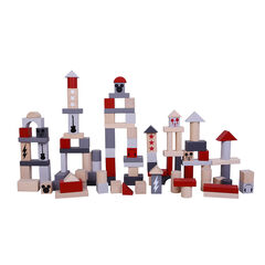 Bloques de construcción de madera Mickey 100 piezas