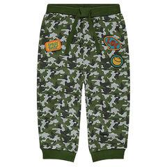 Pantalón de chándal de felpa militar ©Smiley